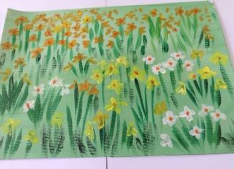 Mavis daffodils
